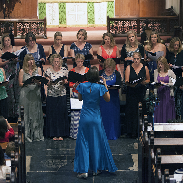 Recording Engineer:<br>South West Song Birds (Charity Choir Recording)